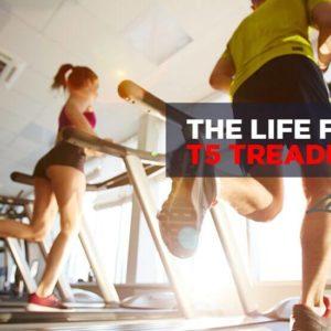 The Life Fitness T5 Treadmill