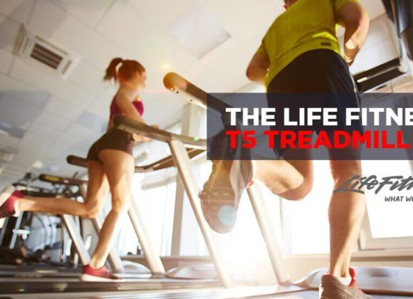 The Life Fitness T5 Treadmill